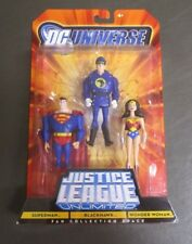 Blackhawk Superman Wonder Woman 3 Pack JUSTICE LEAGUE UNLIMITED DC Universe