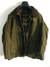 Mens Barbour Bedale wax jacket Green coat 42in size Medium / Large M/L #6