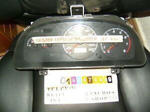 Indicateur Combiné Subaru Impreza 85014fa44 Compteur de Vitesse Groupe Horloge