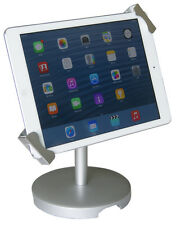 Universal Tablet Desktop POS Anti-theft Stand Enclosure Holder w/ Lock iPad