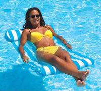 Swimline Inflatable Swimming Pool Premium Hammock Float 9044