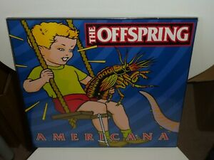 THE OFFSPRING - AMERICANA REISSUED BLACK VINYL LP MINT/SEALED