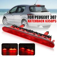 Car Rear High Level Third 3rd Brake Light Lamp 6350P5 For Peugeot 307  *