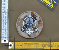 "Ricamata / Embroidered Patch ""Navy Seal Devgru"" Aor 1 with VELCRO® brand hook"