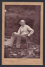Victorian British Prime Minister Gladstone Photo  Hawarden Castle Wales 1877