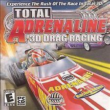 Total Adrenaline 3D Drag Racing, Very Good Windows 98, PC, Windows 95 Video Game