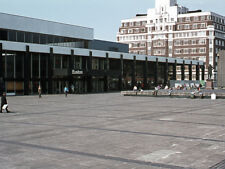 PHOTO  1974 EUSTON RAILWAY STATION 1 BEFORE THE VIEW WAS OBSCURED BY OFFICE BUIL