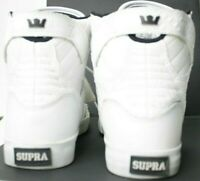 Supra Skytop Hi Top Sneaker Shoes White Croc Edition Women Size 9 98003-140-M