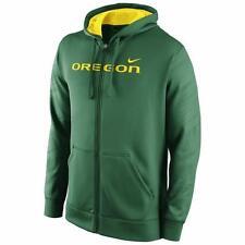 New Men's Oregon Ducks Nike NCAA Warp KO Full Zip Hoodie Sz L $85