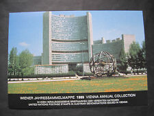 UNO Wien Jahressammelmappe 1989 komplett gestempelt (B 514)