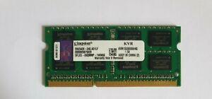 KINGSTON 1X4GB 4GB KVR1333D3S9/4G DDR3 4GB 2Rx8 PC3 10600S Laptop Ram Memory