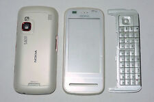 White housing cover fascia facia faceplate case for Nokia C6 C6-00