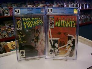 NEW MUTANTS #25-26 (Marvel, 1985) CGC Graded 9.8 SET ~ LEGION ~WHITE Pages