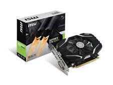 MSI GeForce GTX 1050 Ti 4G OC Graphics Card, PCI-E x16, No SLI, OC performance