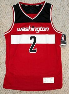 John Wall #2 Washington Wizards NBA Fanatics Red Jersey Men's Size(M)