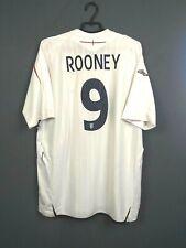 Rooney England Jersey 2007 2009 Away XXL Shirt Umbro Football Soccer ig93