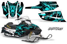 Arctic Cat Firecat Sabercat Graphics Kit Snowmobile Decals Sled Wrap NIGHTWOLF M