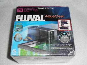 Fluval AquaClear Power Filter  20  Aquarium Filter 5 - 20 Gallon