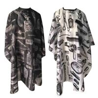Salon Hair Cut Hairdressing Cape Gown Hairdresser Barbers Cloth Waterproof US