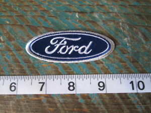 FORD OVAL RACING PATCH SCCA F150 MUSTANG SHELBY MODEL A SVT GT NASCAR NHRA F250