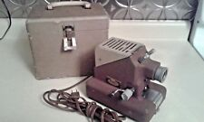 Vintage Model 333 Standard Projection Co 35 mm Film Projector In Hard Carry Case
