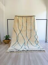 Authentic Beni Ourain rug Moroccan Rug Azilal Rug Colorful wool berber carpet