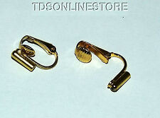 Earring Converters Convert Post Earring To Clip On Earring Gold Color