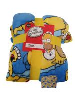 The Simpsons Soft Fleece Throw Blanket 120 cm X 150 cm Brand New Primark