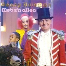HENNY HUISMAN - Met z'n allen 12TR CD 1990 POP DUTCH / Playbackshow / RTL4