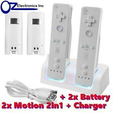 Remote Controller Wiimote Nunchuck Set for Nintendo Wii 11 in 1 Offer Motion