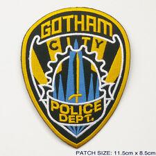 "BATMAN ""GOTHAM CITY POLICE DEPT."" Embroidered Patch"