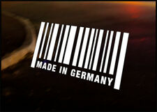 MADE IN GERMANY JDM Decal vinyl sticker, Audi BMW Mercedes Mini Porsche VW