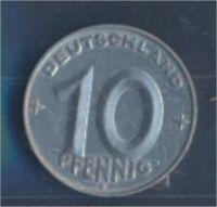 DDR Jägernr: 1507 1953 E vorzüglich Aluminium 1953 10 Pfennig (7849358
