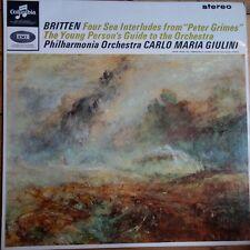 Sax 2555 Britten cuatro Sea Interludes/joven's Guide/Giulini/Philh..