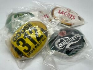 VARIOUS NEW OVAL FISH EYE PUMP BADGES - HOME BAR PUB BEER LAGER ALE
