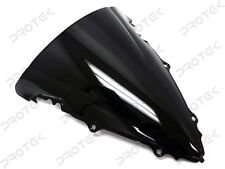ABS Smoke Double Bubble Windscreen Windshield for 03-05 Yamaha YZF R6 06-09 R6s