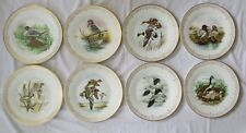 BOEHM LIMITED EDITION WATER BIRD PLATE COLLECTION - COMPLETE SET OF 8