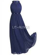 Womens Chiffon Maxi Formal Party Lace Ballgown Cocktail Bridesmaid Long Dresses