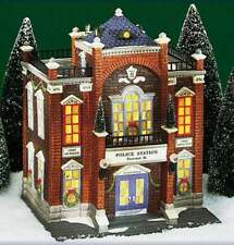 Precinct 25 Police Station #58941 Department 56 Christmas in the City Series Cic
