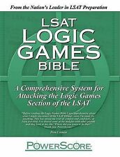 NEW The PowerScore LSAT Logic Games Bible by David M. Killoran