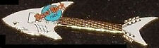 Hard Rock Cafe ONLINE 1990s EBAY Auctions SHARK GUITAR PIN - LE 100 HRC On-Line