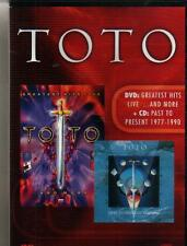 DVD + CD set - TOTO GREATEST HITS LIVE + PAST TO PRESENT
