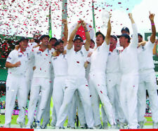 England Cricket Ashes 2011 Winners 10x8 Photo