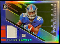 🔥 2019 DARIUS SLAYTON RC /50 Donruss OPTIC Rookie Phenoms 2-color Patch Jersey