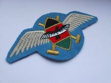 KENYA rifle regiment  parachute battalion jump wing  award brevet patch