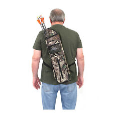 SAS Archery Back Arrow Quiver Hunting Target with Two Front Pockets 600D