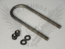 U-Bolts for the GM14bolt (3.375)in tube rear axle, 4130 Chromoly, 16in long