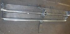 USED ORIGINAL 1966 FORD FAIRLANE GRILL W/ HOOD LATCH SUPPORT