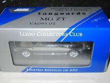 Corgi Vanguards - MG ZT - CHROME MINT / SEALED / BOXED