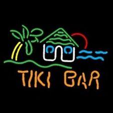 Tiki Bar Hut Neon Bar Sign